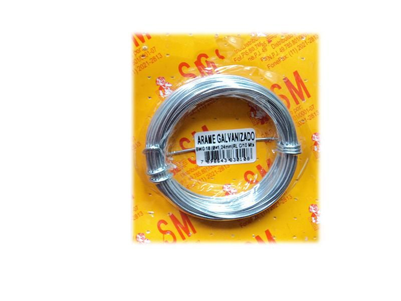 Arame Galvanizado BWG 26 C/10mts CBL