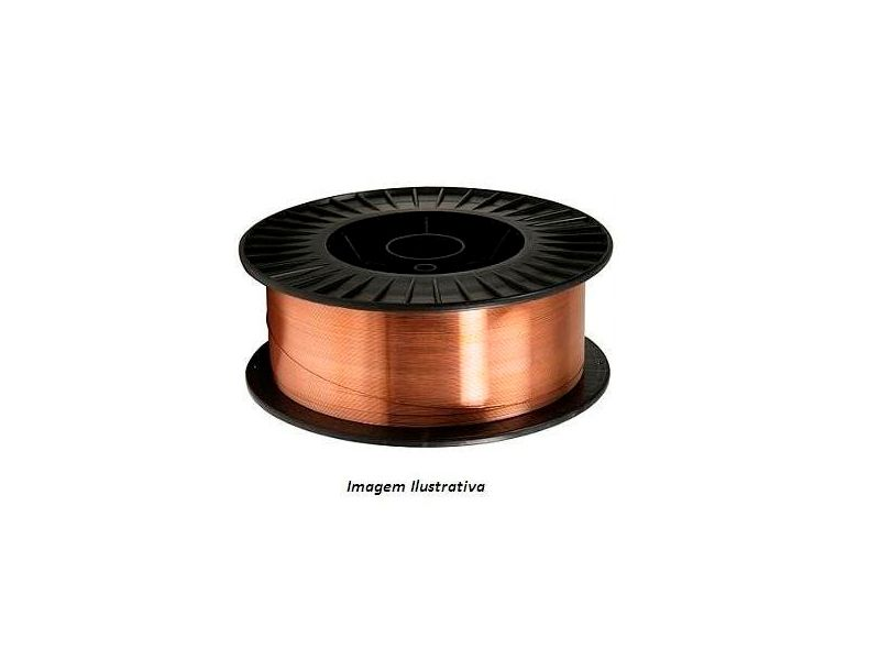 Arame Solda Mig 0,8 Mm Er70s-6 Aws 1,2mm C/15kgs