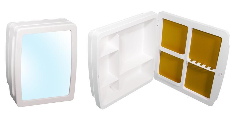 Armário Para Banheiro Herc 34x37 Branco 2650