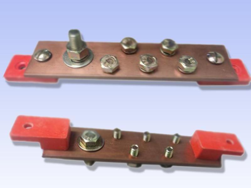 Barramento Neutro Cobre Isolador 6 Saídas Phaynell Un