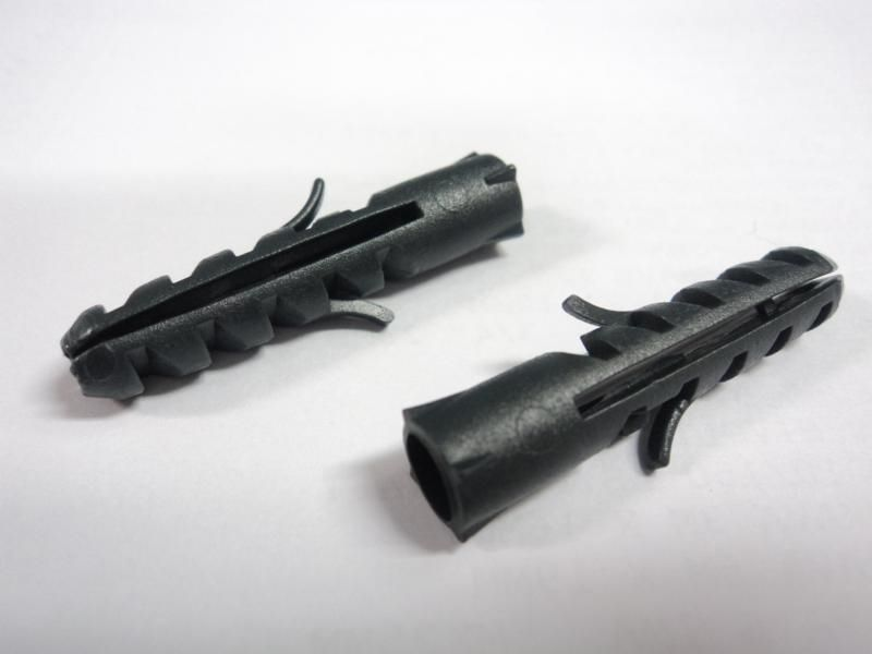 Bucha Sem Parafuso De Plástico 8mm C/ 100 Peças Ivplast