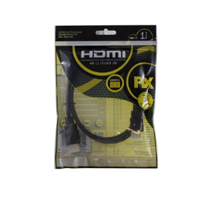 Cabo HDMI 2,0 HDR 1 Metro Pix