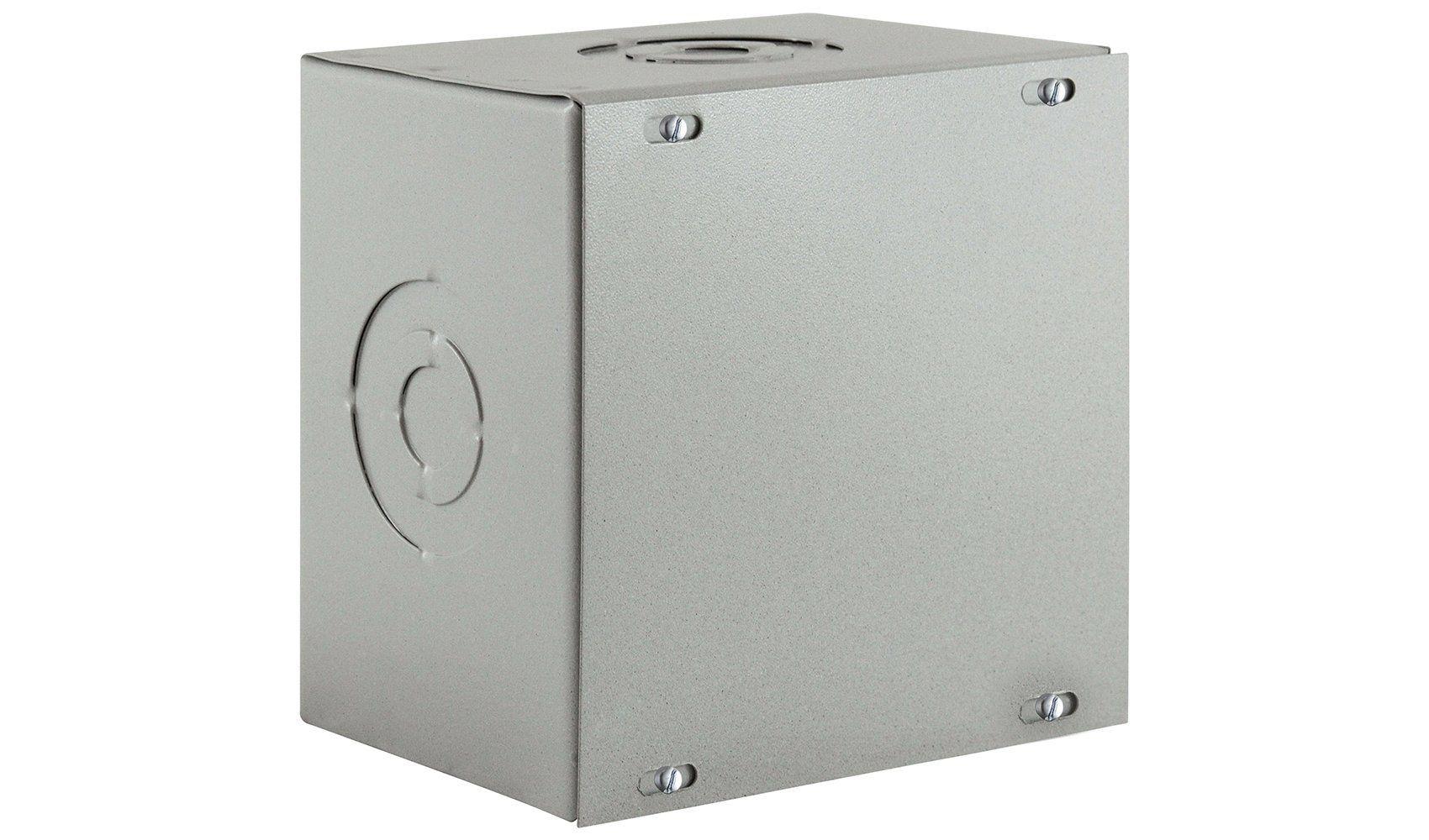 Caixa De Passagem Eletrica Metalica Sobrepor 50x50 CGR
