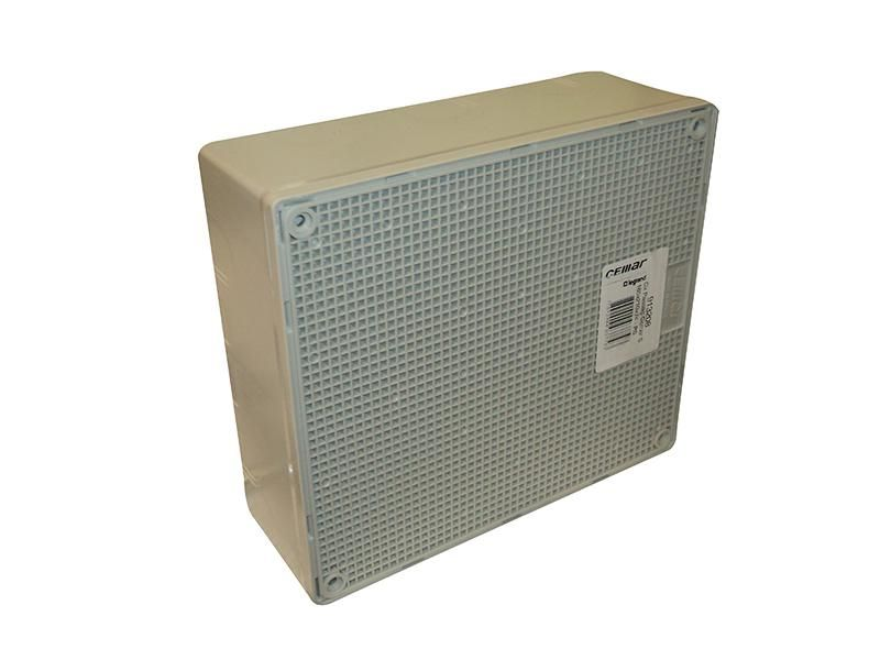 Caixa De Passagem PVC Cemar 185x210x74mm