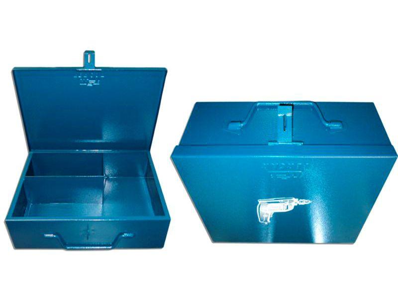 Caixa Para Furadeira Chapa Multiuso 400x280x100mm Fercar