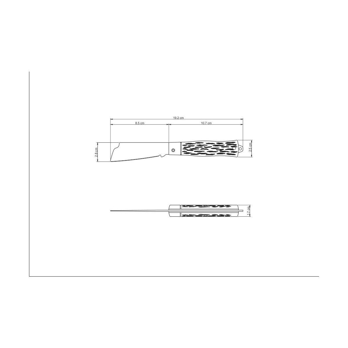 Canivete Inox 3 Tramontina