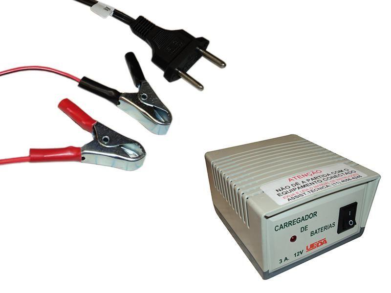 Carregador De Bateria Automotivo 3a 12v Biv 9027 Ueda