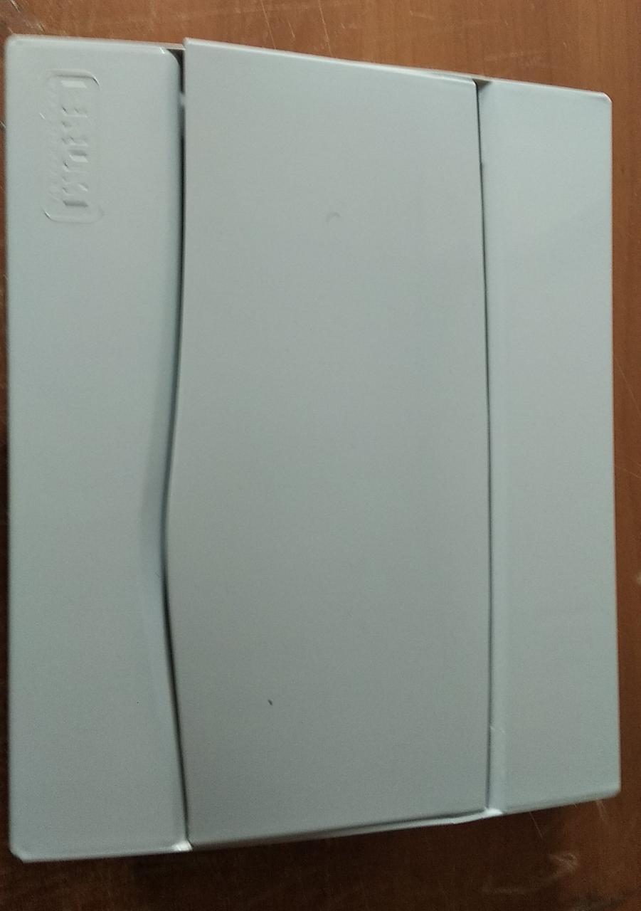 Centrinho Brum Pvc Din Embutir Branco 09Disjuntores