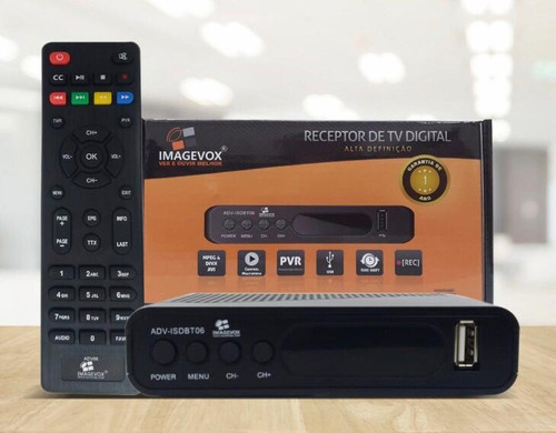 Conversor Receptor De Tv Digital Imagevox Full Hd Adv-isdbt