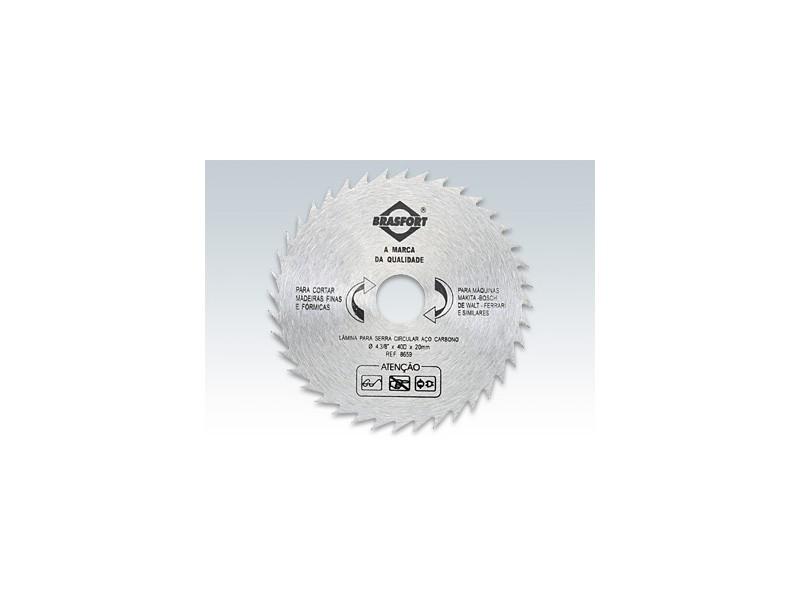 Disco de Serra Circular, 4,3/8, 12 Dentes - Brasfort