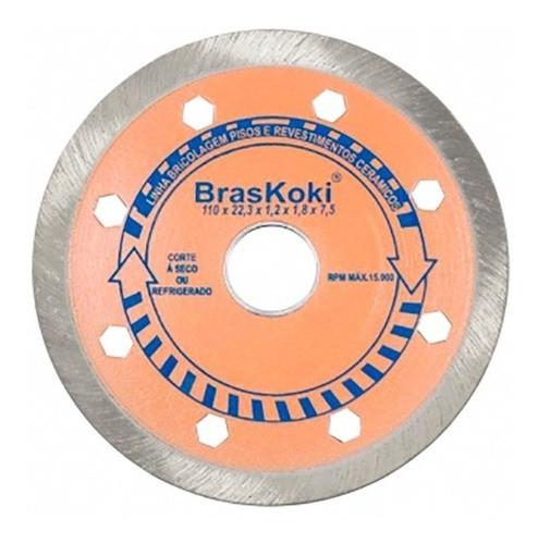 Disco Diamantado 110mm Pisos E Revest. Cerâmicos Braskoki