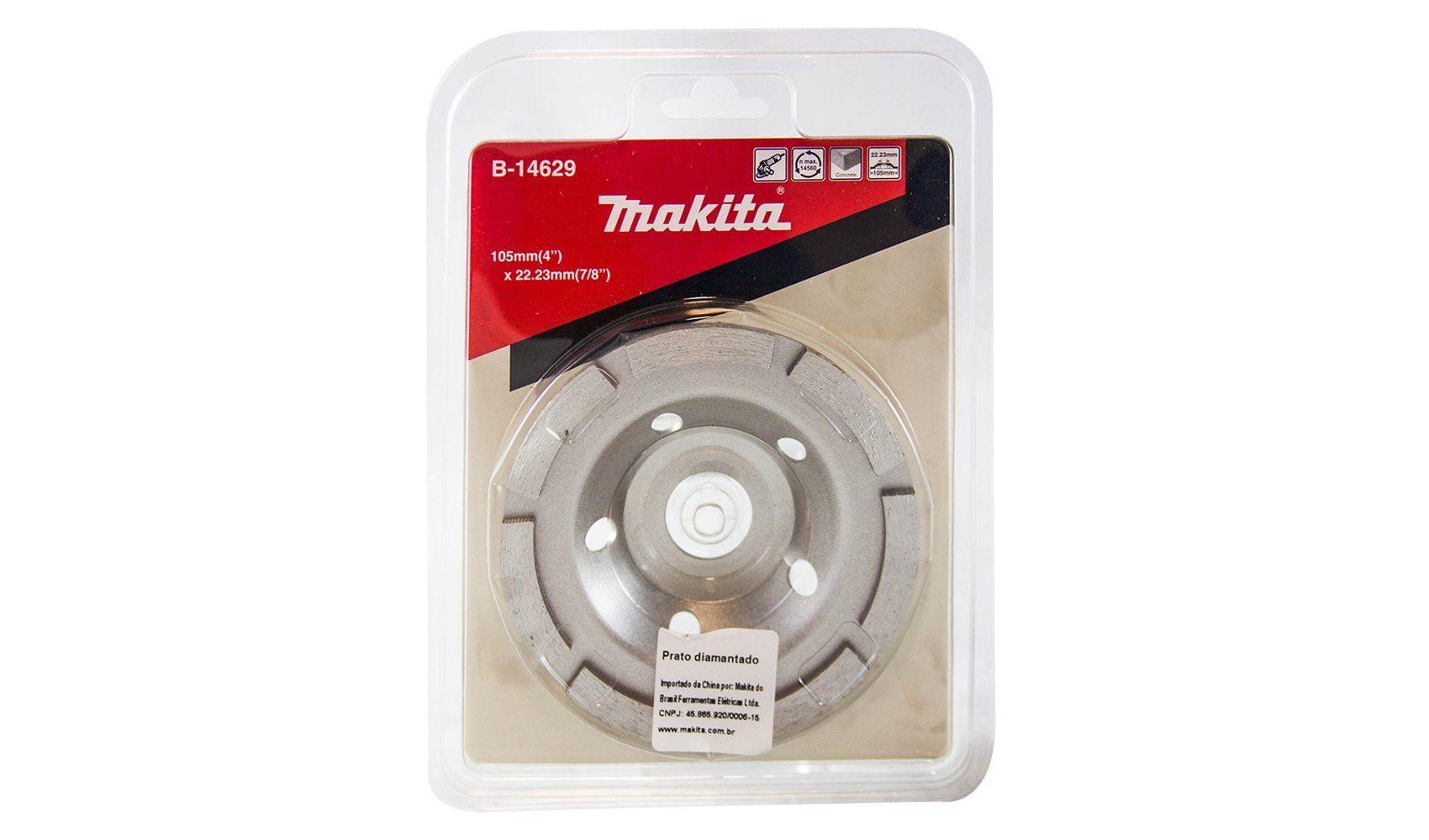 Disco Diamantado Desbaste Makita B-14629 105mm X 22,23mm
