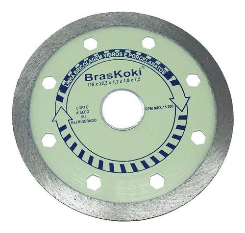 Disco Diamantado Porcelanato E Pastilha De Vidro Braskoki