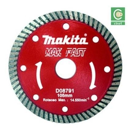 Disco Diamantado Turbo 105 Mm- Makita- D08791 Original