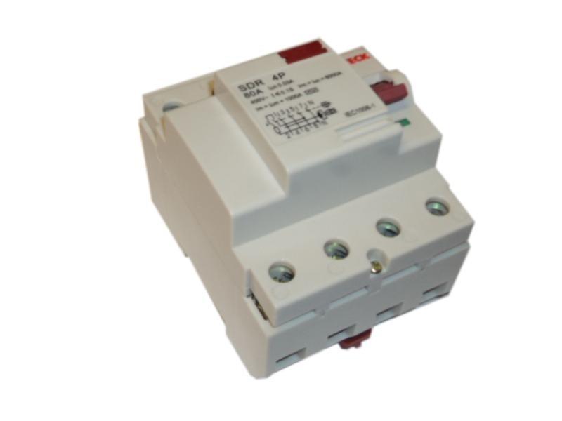 Disjuntor de Fuga 4p 100a 300m Steck SDR410003
