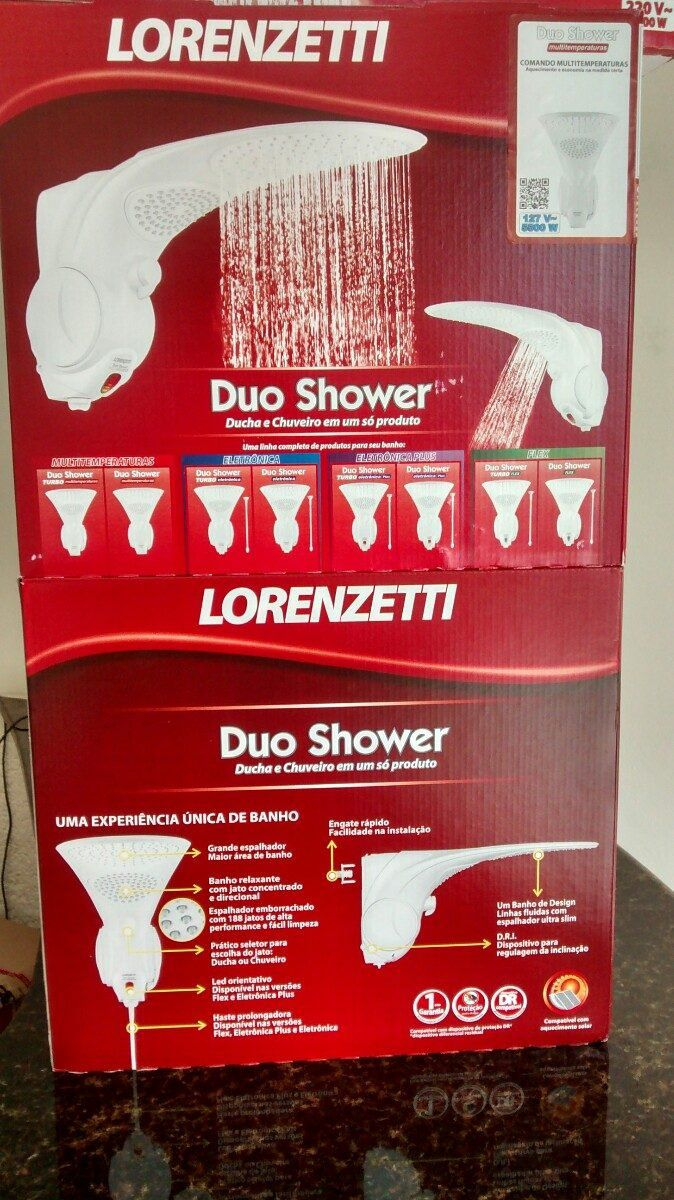 Ducha Lorenzetti Duo Shower Multi 7500W 220V