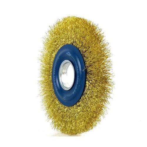 Escova Circular Aço Latonado 6x1 Brasfort-7248