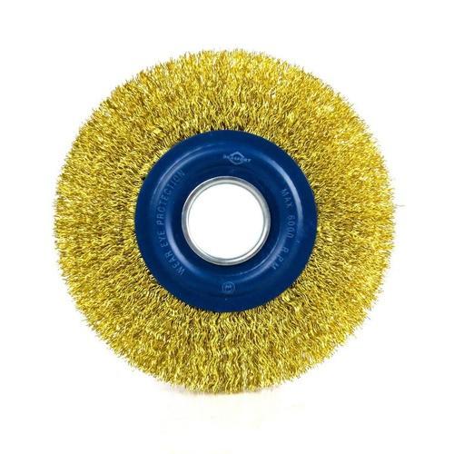 Escova Circular Aço Latonado 6x 3/4 Brasfort-7246
