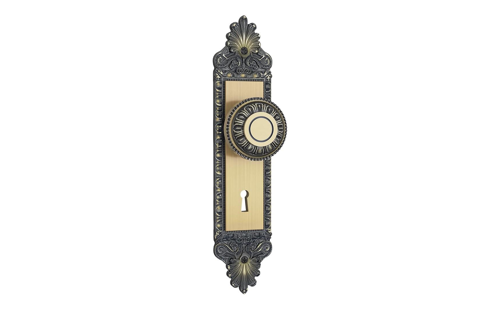 Fechadura Interna Espelho Colonial Maçaneta Bola 813/04 Stam