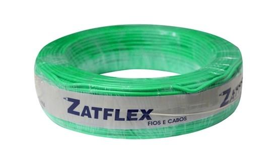 Fio Cabinho Flexível 4mm 100m Verde Zatflex