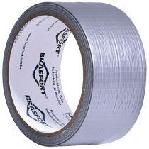 Fita Silver Tape Brasfort 48MMX10M Cinza