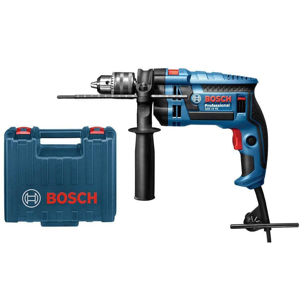 Furadeira De Impacto 1/2 13mm 750w Com Maleta Gsb16re Bosch 110V