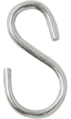 Gancho Zincado Tipo S Nº1 28 Mm - São Raphael C/100 Un