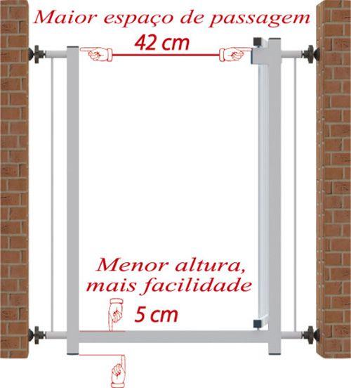 Grade Domestica com Extensor 0,70 a 1,00 Metro