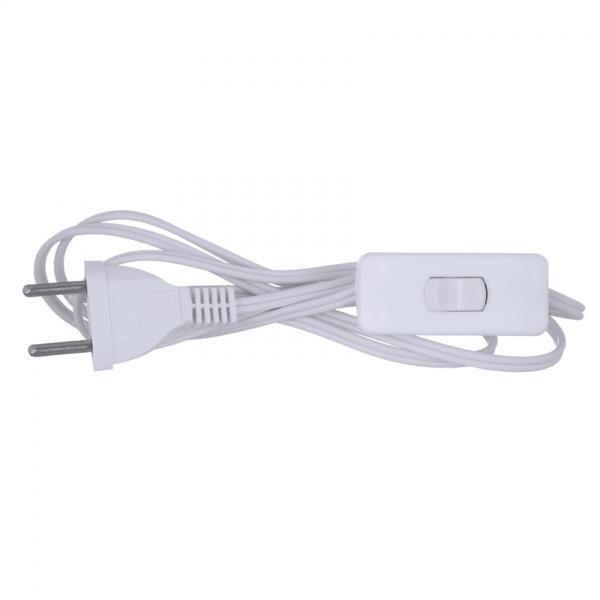 Interruptor Meio Cordão com Cabo 1,20m Cor Branco