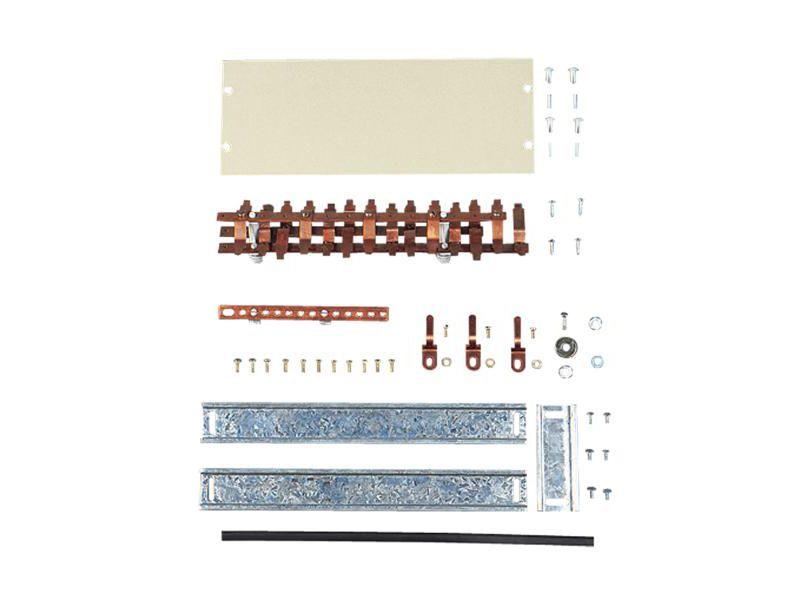Kit Barramento Cemar DIN Trifasico 28 Disjuntores
