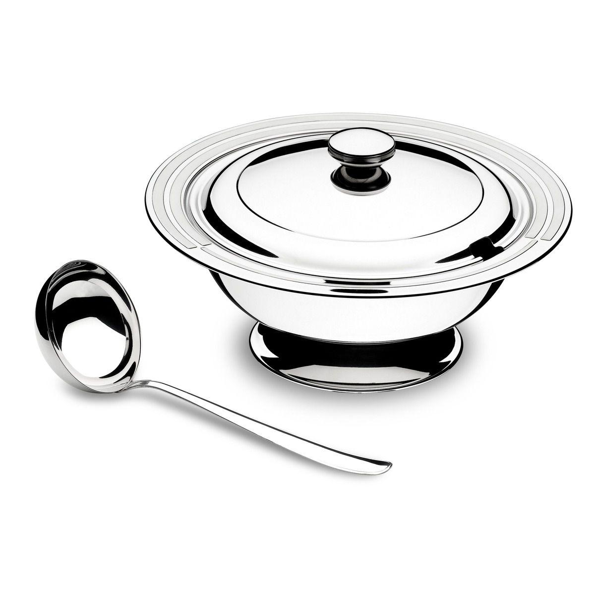 Kit Para Sopa Aço Inox 2 Pç.