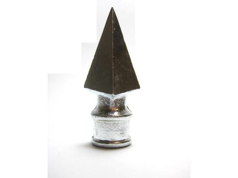 Lança Alumínio para Portão 3/8 Polegadas Pacote c/ 05 pçs