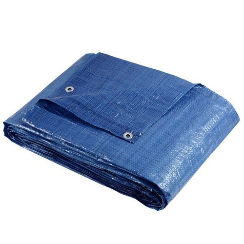 Lona Azul Fina Encerado De Polietileno 7mx5m Brasfort