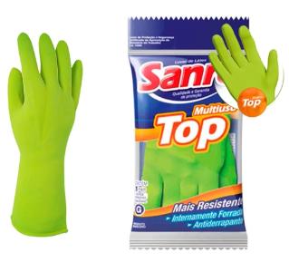 Luva Mão Latex Top Tamanho M Sanro