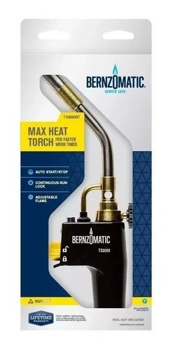 Maçarico Portátil Turbo Torch Bernzomatic Ts8000 - Origina