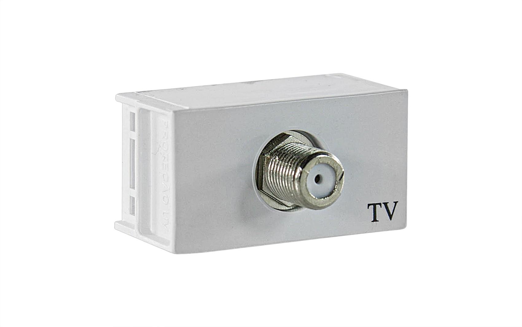Módulo Tomada Antena Tv Slim 8163 Ilumi