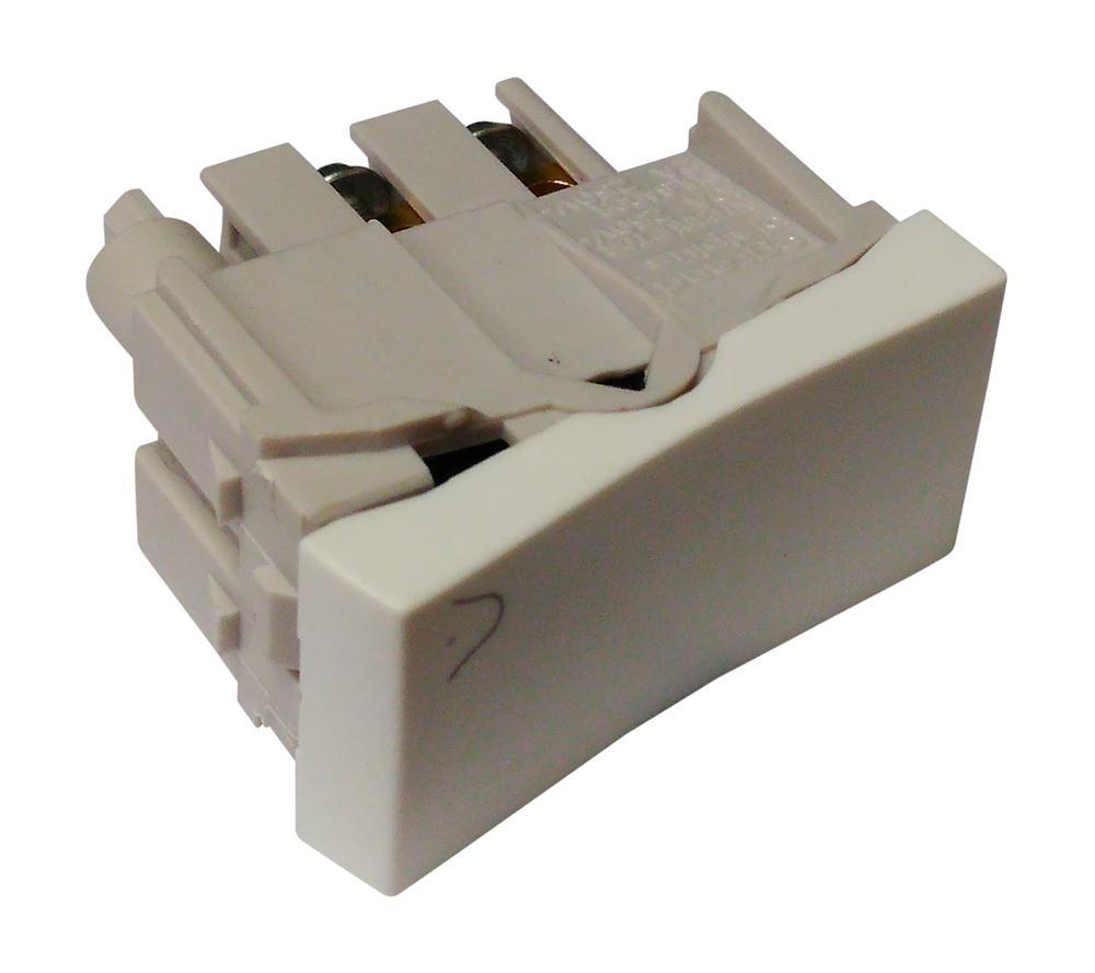 Modulo Interruptor Campainha 250V 2A Branca 611002 Pial Legrand