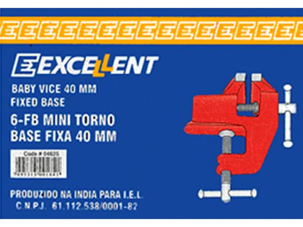 Morsa Mini Torno de Mesa 2,1/2 POL com Base Fixa 2WA EDA