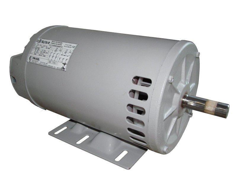 Motor Elétrico Monofásico 1cv 2 Polos NOVA