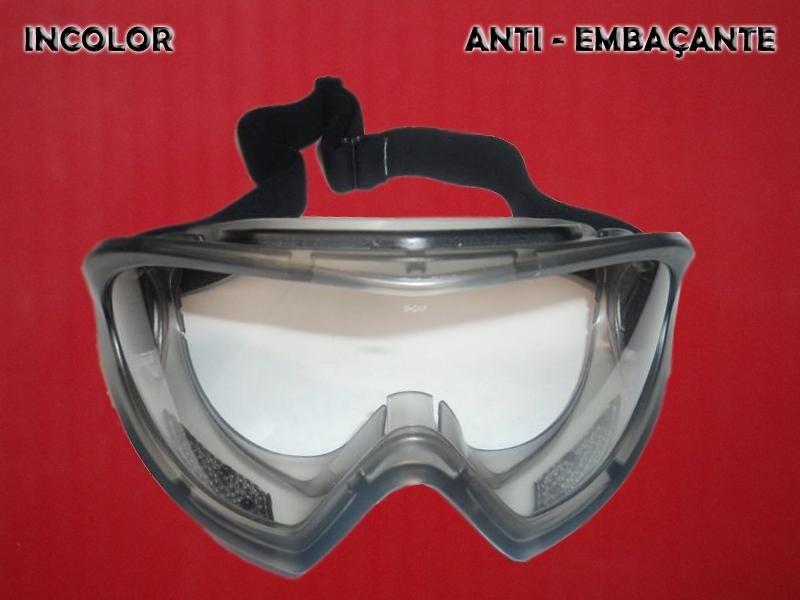 Oculos de Proteção Anti Embaçante Incolor Angra Kalipso