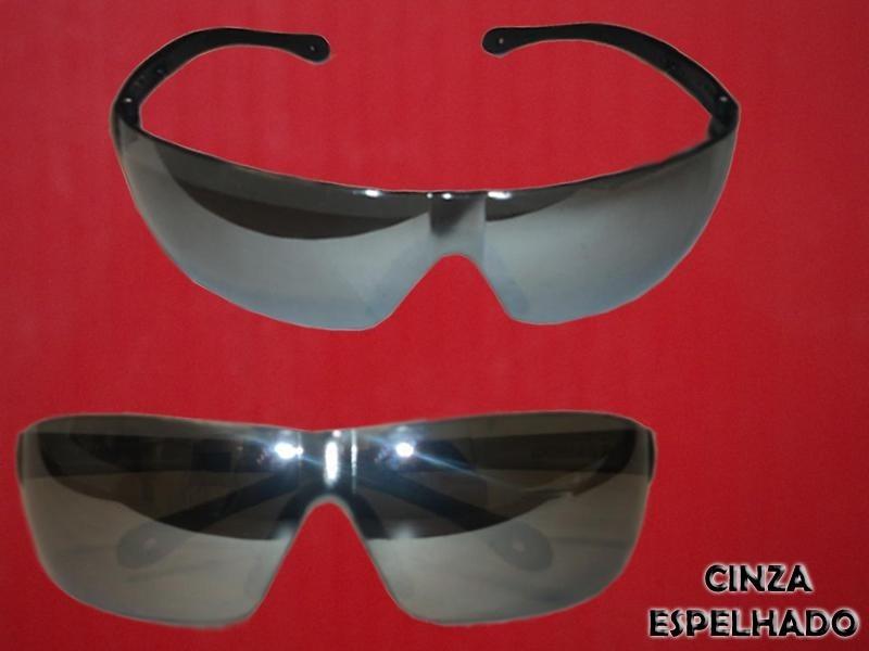 Oculos de Proteção Cinza Espelhado Pallas Kalipso