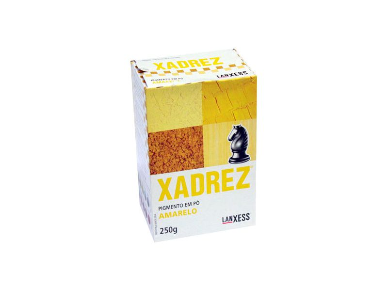 Pigmento Em Pó Xadrez 250g Amarelo Para Tinta