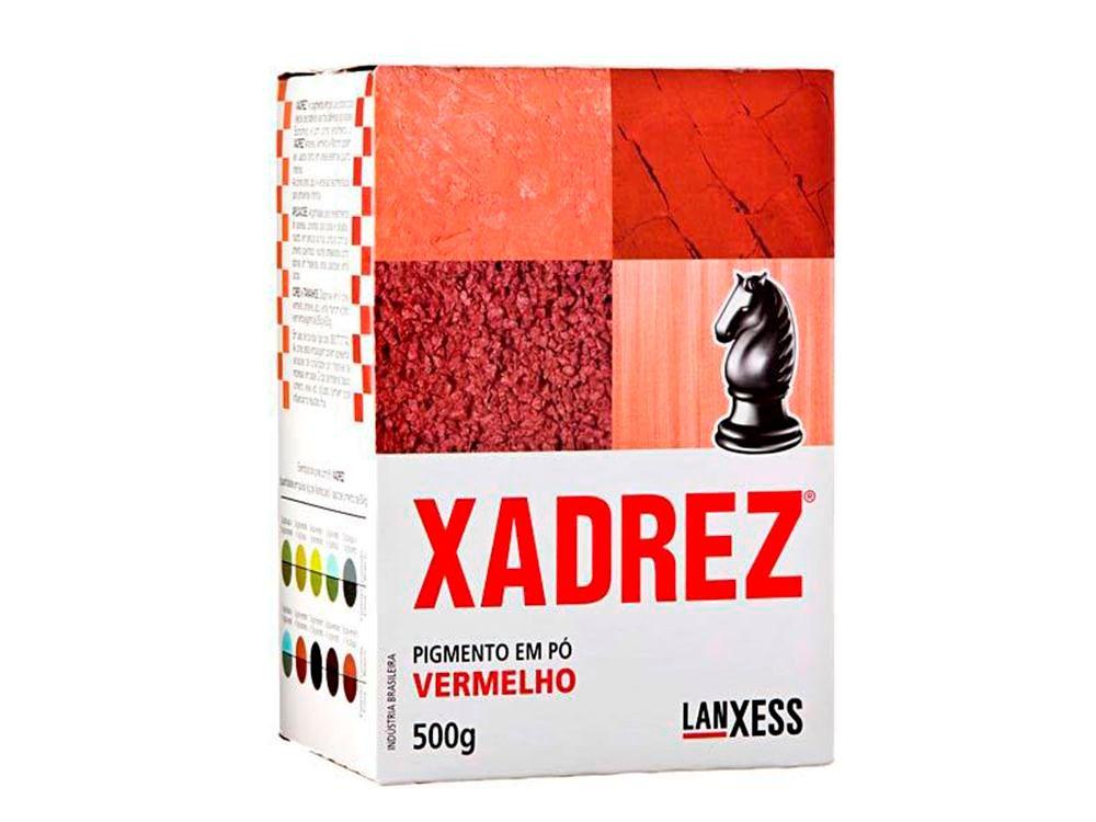 Pigmento Em Pó Xadrez 500g Vermelho Para Tinta