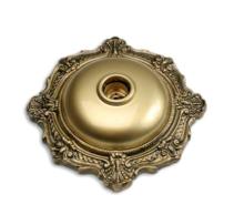 Plafon Com Soquete Bronze Pavilonis