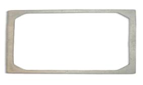 Porta Grelha De Ferro 15x100cm Donifer