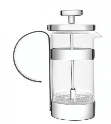 Prensa Francesa Tramontina Para Café Em Vidro E Aço Inox 7 Cm 420 Ml