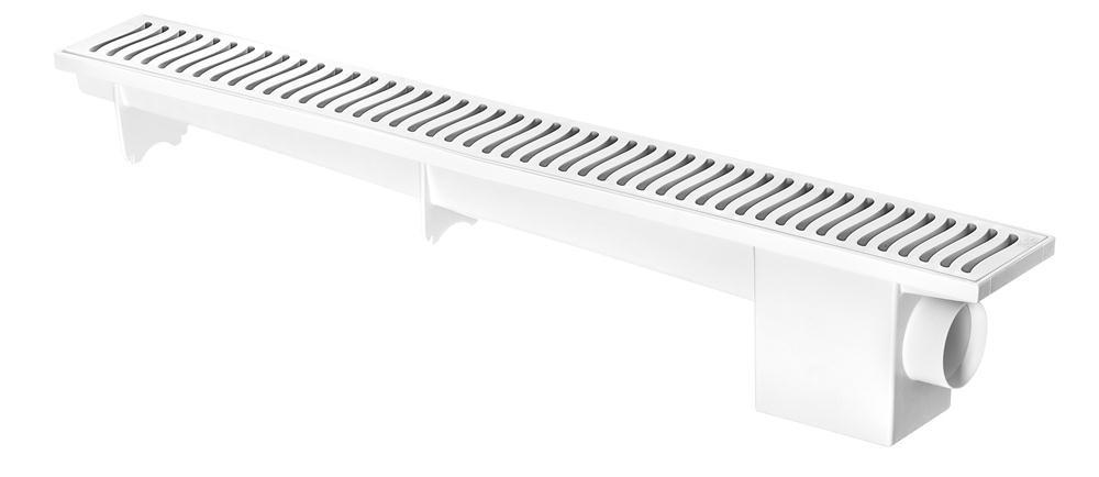 Ralo Linear 50cm Branco Herc