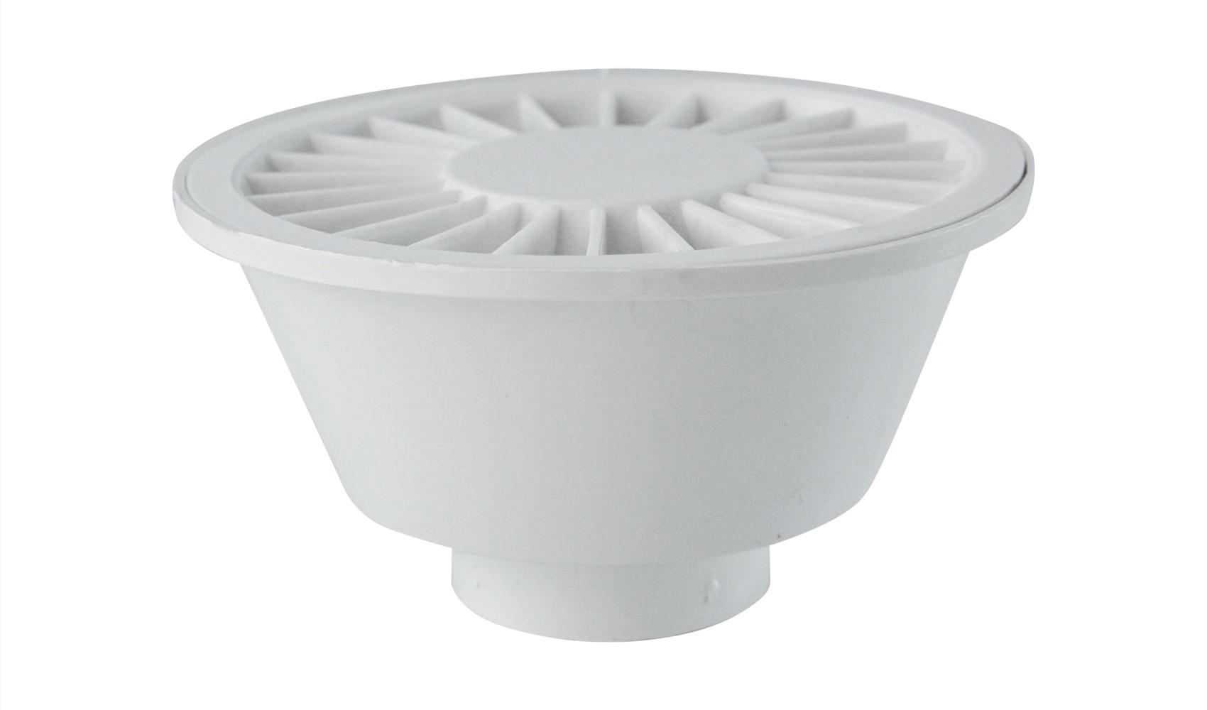 Ralo Sifonado Redondo 10cm Branco Simplas