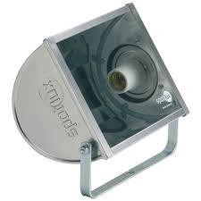 Refletor Alumínio Rle 160w E27 Retangular Spotlux