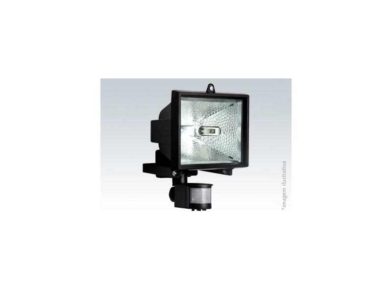 Refletor Com Sensor De Presença Lampada Halogena Brasfort